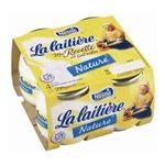 La Laitière -  la laitiere ma recette au lait entier nature 4x    La Laitière   Le Yaourt nature au lait entier   Colis de 6 lots de 4 pots - Le pot de 125 g 3023291156000