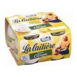 La Laitière - y. La Laitière citron x4   La Laitière   Le Yaourt saveur citron au lait entier   Colis de 6 lots de 4 pots - Le pot de 125 g 3023291280125