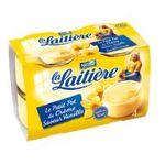 La Laitière - Petit pot creme vanille x4   La Laitière   Petits Pots de Crème vanille 11,80 %   Colis de 8 lots de 4 pots - Le pot de 100 g 3023292220038