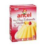 Ancel -   preparation pour dessert boite carton vanille 4 doses flan entremet  3027030028665