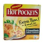 Maggi -  maggi hot pocket jambon/fromag   3033210822053