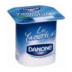 Danone -  Danone | Yaourt nature | Colis de 12 lots de 4 pots - Le pot de 125 g 3033490071691