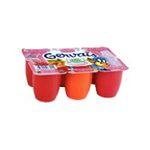 Gervais -  Petit suisse 40% fraise framboise abricot 3033490073015