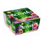 Activia - Danone | Activia bifidus figue | Colis de 6 lots de 4 pots - Le pot de 125 g 3033490077136
