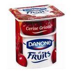 Danone -  Danone | Yaourt aux fruits | Colis de 6 lots de 8 pots - Le pot de 125 g 3033490082215