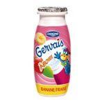 Gervais -  yaourt a boire abricot et pêche ou banane et fraise  3033490104870