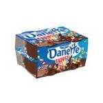 Danette -   crousti magix creme dessert pot bi-compartiment chocolat  smarties meuble refrigere  3033490125721