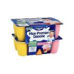 Danone -   mon premier danone petit suisse pot plastique fruits assortis  12ct des 6 mois  3033490140298