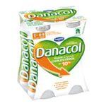 Danacol -   yaourt a boire bouteille plastique allege en mg et anti cholesterol  4ct sans label lait ecreme nature vache yaourt nature  3033490145026