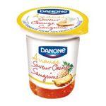 Danone -   | Danone et fruits - fruits jaunes panachés | Colis de 10 pots - Le pot de 150 g 3033490162504
