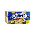 Danette -   crousti magix creme dessert pot bi-compartiment vanille  4ct smarties meuble refrigere  3033490213664