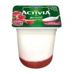Activia -   yaourt pot plastique framboise bi couches standard  4ct  3033490238063