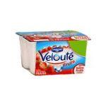 Danone -  Velouté -   Velouté  fruix yaourt pot plastique fraise brasse standard  4ct  3033490266011 UPC