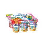 Gervais -   paille yaourt a boire pot plastique abricot ou fraise et peche standard  6ct sans label lait entier fraise ou peche et abricot vache yaourt aux fruits  3033490267872