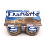 Danette -   expresso creme dessert pot plastique cafe  4ct meuble refrigere  3033490306090