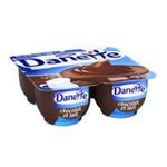 Danette -   creme dessert pot plastique chocolat au lait  4ct meuble refrigere  3033490306175