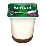 Activia - Danone | Activia fruits bi-couche pruneaux | Colis de 6 lots de 4 pots - Le pot de 125 g 3033490323905
