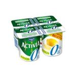 Activia -   yaourt pot plastique citron allege standard standard  4ct  3033490422929