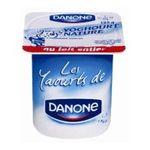 Danone -  Danone | Yaourt nature lait entier | Colis de 12 lots de 4 pots - Le pot de 125 g 3033490431006