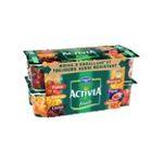 Activia -  yaourt pot plastique fruits assortis standard standard  16ct  3033490433864