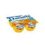Danette -   creme dessert pot plastique caramel beurre sale  4ct meuble refrigere  3033490553777