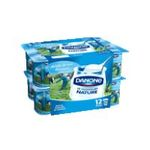 Danone -   yaourt pot plastique nature ferme standard  12ct  3033490593841
