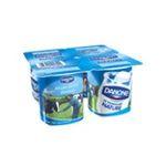 Danone -   yaourt pot plastique nature ferme standard  4ct  3033490593865