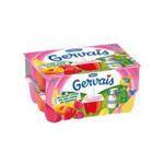 Gervais -   gervais fromage frais pot plastique fruits assortis standard  24ct sucre standard suisse 45 pourcent m.g. meuble refrigere  3033490593889