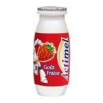 Actimel -  yaourt a boire bouteille plastique fraise casei  10ct sans label lait entier fraise vache yaourt aromatise  3033490594107