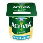 Activia -  yaourt pot plastique vanille ferme standard  4ct  3033490594268