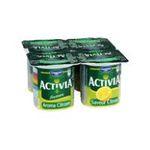 Activia -   yaourt pot plastique citron ferme standard  4ct  3033490594282