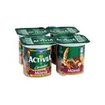 Activia -  cereales yaourt pot plastique muesli standard standard  4ct  3033490594299