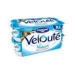 Danone -  Velouté -   yaourt pot plastique nature brasse standard  16ct  3033490594374