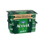 Activia -   yaourt pot plastique nature ferme standard  12ct  3033490594381