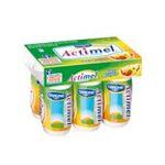 Actimel -   yaourt a boire bouteille plastique multi fruits casei  6ct sans label lait entier multifruits vache yaourt aromatise  3033490689971