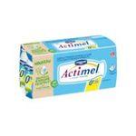 Actimel -   yaourt a boire  allege en mg et casei  10ct sans label lait ecreme nature vache yaourt nature  3033490690205