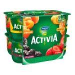 Activia -   yaourt pot plastique fruits assortis standard standard  12ct  3033490690328