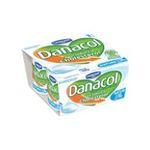 Danacol -   yaourt nature allégé ferme standard  4ct  3033490690663