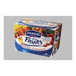 Danone -   recette cremeuse fruit panache 12x  3033491104015