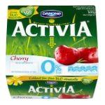 Activia - Bio 0% cerise griotte x4 3033491117060