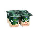Activia - yaourt pot plastique peche blanche ferme standard 3033491565502