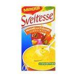 Sveltesse -  soupe instantanee sachet sous etui moulinee aux neuf legumes vitamine quatre assiettes une assiette par sachet  3033710072781
