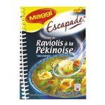 Maggi -  escapade soupe a cuire sachet soupe pekinoise aux raviolis chinois trois assiettes trois assiettes par sachet  3033710084081