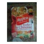 Royco -  minute soup les genereuses soupe instantanee sachet sous etui bouillon de legume a la chinoise trois assiettes une assiette par sachet  3036810070176