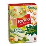 Royco - ET.3 SAC.DELICE POIREAUX CROUTONS EXT.CRAQ.MN.SOUP 3036812020971