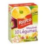 Royco -  minute soup moulinees soupe instantanee sachet sous etui moulinee 10 legume quatre assiettes quatre assiettes par sachet  3036812050442