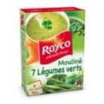 Royco -  minute soup moulinees soupe instantanee sachet sous etui moulinee sept legume vert quatre assiettes quatre assiettes par sachet  3036812050459