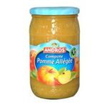 Andros -  Compotes -  Pomme Allégée 3045320013665