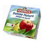 Andros -  Dessert fruitier -  Compote de pommes nature allégée 3045320014082