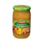 Andros -  Compotes -   compote pomme compote avec morceaux pot verre  3045320076127